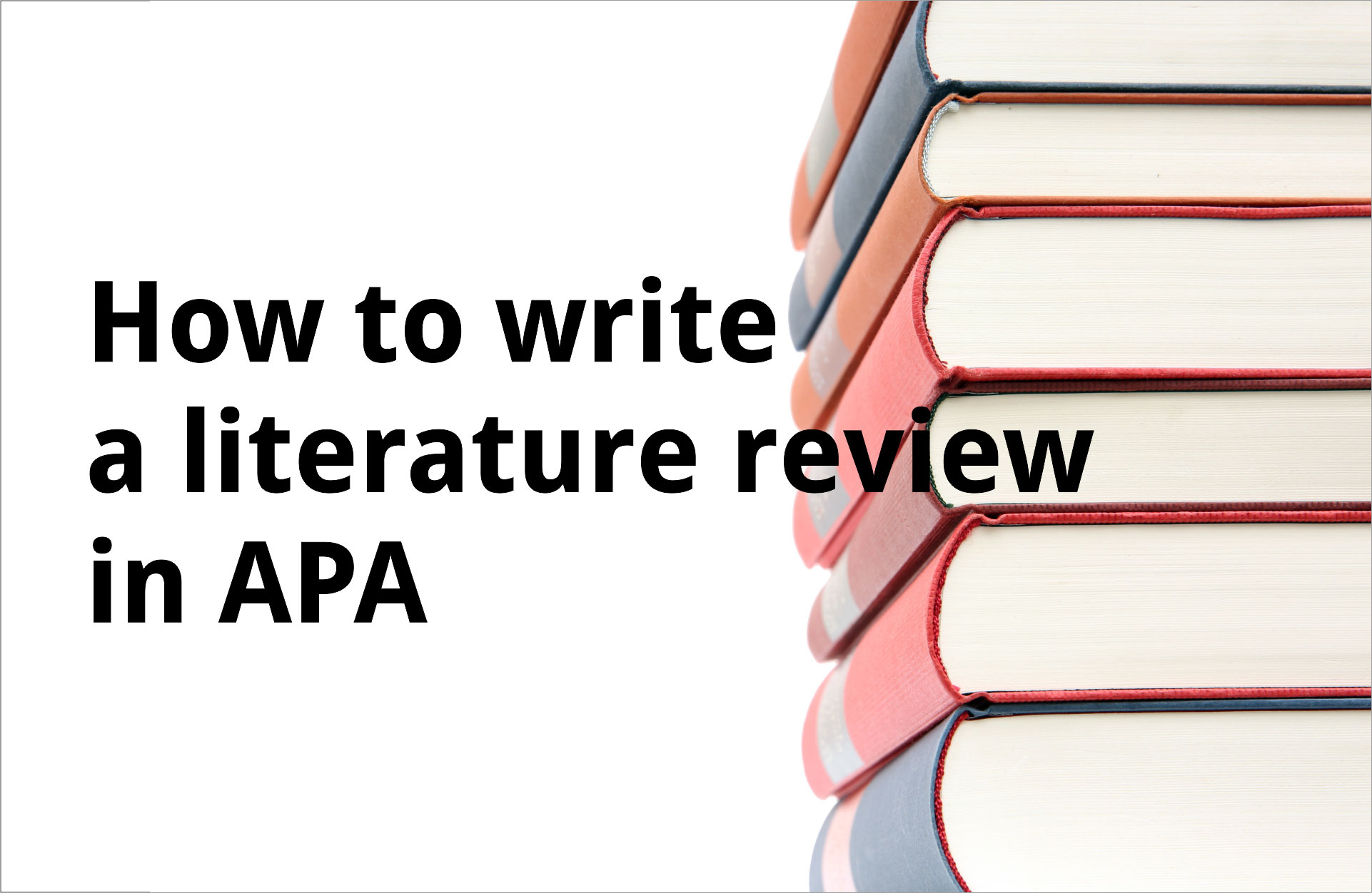 Pay for written literature review